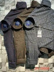Cotton Yarn Dyed Checked Shirt