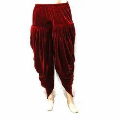 Men Cotton Maroon Dhoti Pant, Size: 38.0-44.0