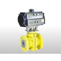 FEP And PFA Lined Ball Valve