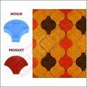 Parachute Paver Moulds 60 Mm 615b - Sand