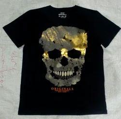 Mens Skull T -Shirt