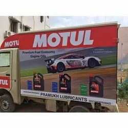 Polyester Printed Vehicle Advertising Banner