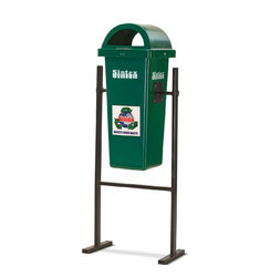 Litter Bin With Permanent Structure Stand