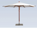 Garden Center Pole Umbrellas
