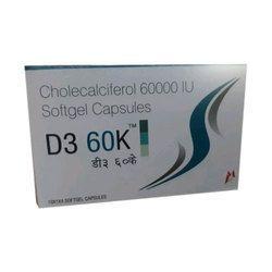 Cholecalciferol 60000 I.U Soft Gel Capsules