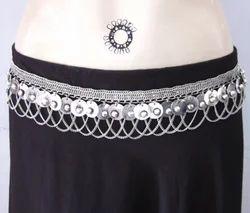 Gypsy Boho Bellydance Festival Maxi Dress Belt