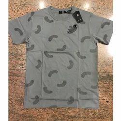 Men Cotton Half Sleeve Round Neck T Shirt