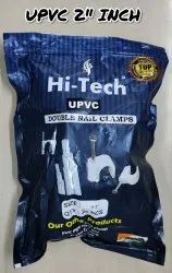 2 Inch Upvc Double Nail Pipe Clamps