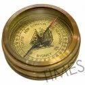 Antique Nautical Pocket Compass, As A Item