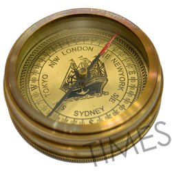 Antique Nautical Pocket Compass, As A Item