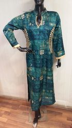 Embroidery And Print Design Style Salwar Kameez