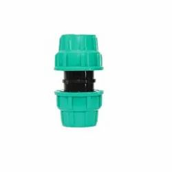 Pp Compression Pipe Coupler