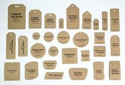 Hang Tag For Cloth, Packaging Type: 100