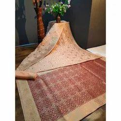 Wedding Wear Silk Sarees, 6 m (with blouse piece)