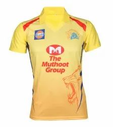 Chennai Super Kings 2019 IPL Jersey with Logo