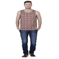 Sleeveless Sublimation T Shirts