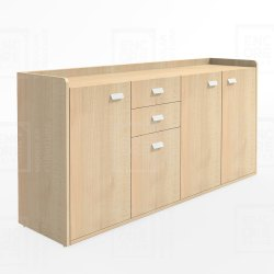 Wooden Office File Storage Cabinets
