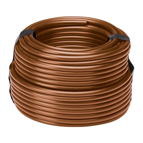 Pvc Brown Double Layer Drip Pipe