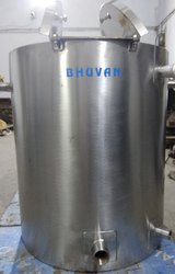 BE Pharma 150 Liters Gelatin Feed Tank
