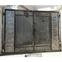 Decorative Mild Steel MS Main Gate, For Anywhere