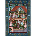 Mughal Court Miniature Painting