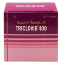 Acyclovir 200 (DT)/ 400/ 800 mg(Triclovir 200/ 400/ 800) Tablet