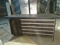 Rectangular Wooden Modern Front Desk Table