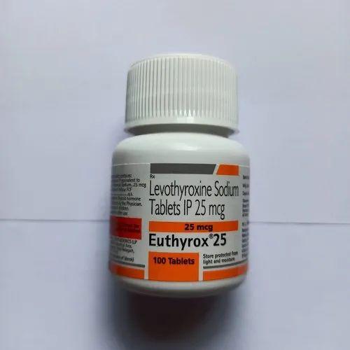Euthyrox Levothyroxine 25 Mcg Tablet Rs 10 Pack S A
