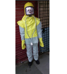 Leather Sand Blasting Suit