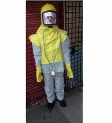 Leather Sand Blasting Suit