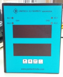 Pantech 0 - 70 deg C Humidity & Programmable Temperature Controller, 24 VD C (22.5 to 28)VDC, +/- 0.15 of span