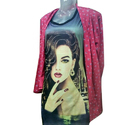 Ladies Cotton Printed Designer Top