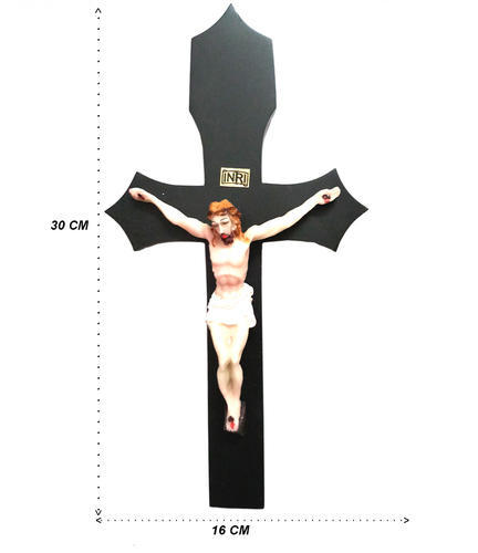 Wooden Jesus Christ Cross With Statuewooden Crucifix Wall Cross