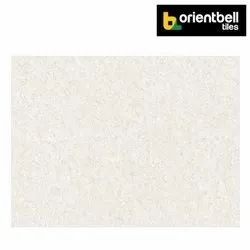 Orientbell ROSA WHITE Marble Printed Double Charge Vitrified Tiles, Size: 800X1200 mm