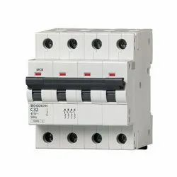 Siemens 63A Four Pole MCB