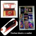 Printed Clutch Ladies Wallet, Packaging Type: Single Poly Pack, Compartments: 2