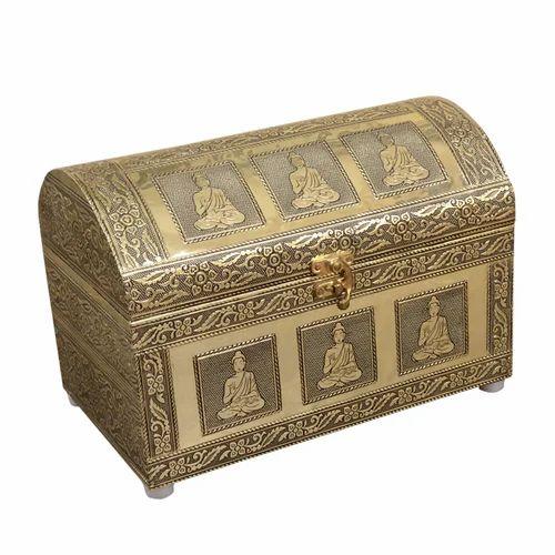 Wooden Handicraft Handmade High Quality Decorative Storage Box, Size: 10*6*6.75