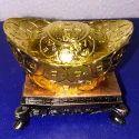 Golden Vaastu Gifts On Chowki