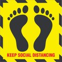 Floor Marker Social Distancing Sticker