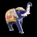 Handcrafted Silver Elephant