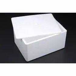 White Thermocol Box