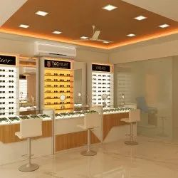 Latest Optical Showroom Design - New