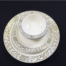 Fancy Acrylic Crockery