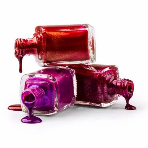 Clear Transparent Nail Polish Glass Bottle | ID: 17978728233
