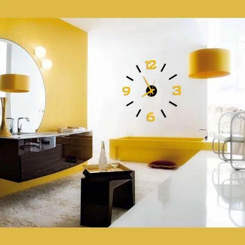 Big Decorative Analog Wall Clocks, Decorative Wall Clock - Vibrandz ...