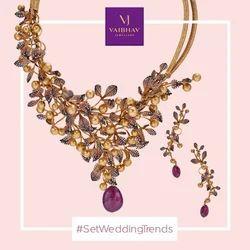 4285135be8d3d Necklace Sets in Visakhapatnam, Andhra Pradesh   Necklace Sets Price ...