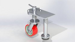 Height Adjustable Casters Wheel