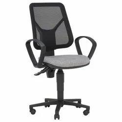 Black chair.