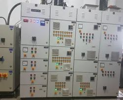 Three Phase Industrial Electrical Control Panel, IP Rating: IP 42