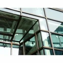 Facade Curtain Wall, for Office